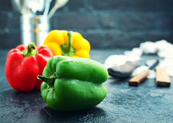 légumes brûleurs de graisse : poivrons