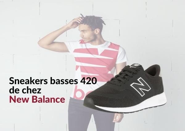 Sneakers new balance : Sneakers basses 420