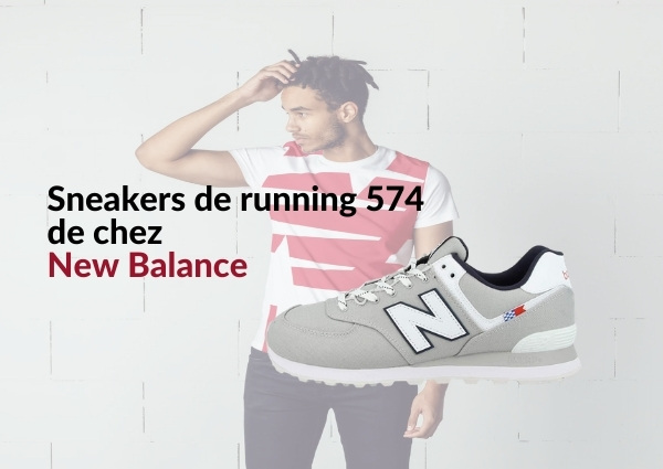 Sneakers new balance : Sneakers de running 574