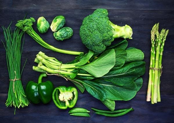 légumes brûleurs de graisse : légumes verts
