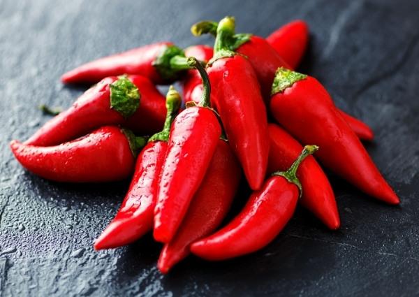 légumes brûleurs de graisse : piment