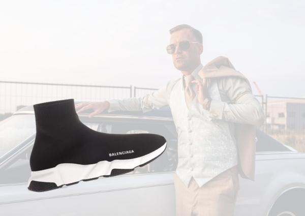 sneakers luxes pour homme : balenciaga