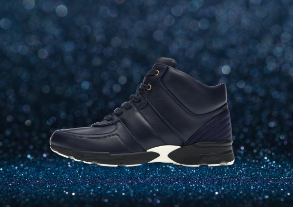 Sneakers Chanel : Chanel CC Hightop en « Navy »