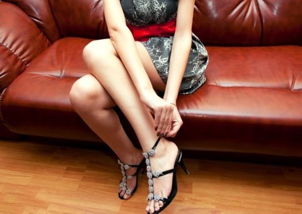le choix de ses chaussures avec une robe