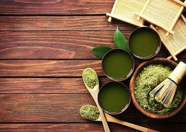 Brûleur de graisse qui fonctionne : thé vert